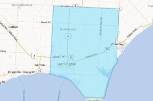 map image of LEAMINGTON